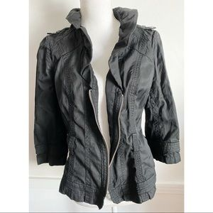 White House Black Market Lightweight Black Jacket
